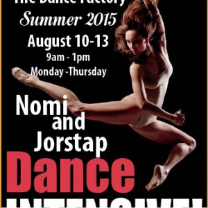 Nomi and Jorstap - Dance Intensive @ The Dance Factory | Delavan | Wisconsin | United States