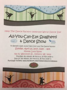 All-You-Can-Eat Spaghetti & Dance Show @ Monte Carlo Room | Elkhorn | Wisconsin | United States