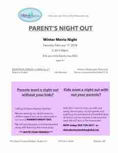 Parent's Night Out @ The Dance Factory | Delavan | Wisconsin | United States